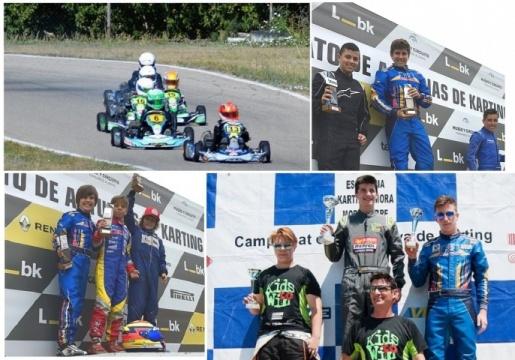 Temporada alta en los regionales de karting