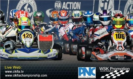 Europeo CIK FIA - El turno de KF y KFJ en Portimao