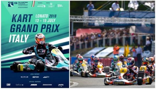 Europeo CIK-FIA: Segunda cita para KZ, KZ2 y Academy Trophy en Lonato