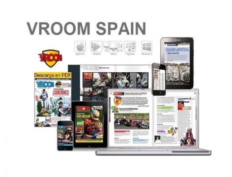 Vroom Spain se convierte en mensual.