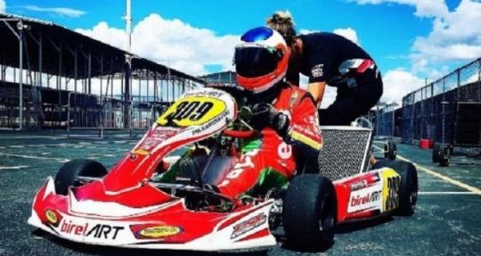 Rubens Barrichello en el Campeonato del Mundo CIK-FIA 2016 de KZ