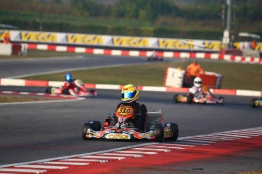 46 Trofeo de la Industria: Top 7 para Sagrera en OKJ, Briz sin suerte en 60 Mini