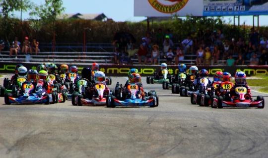 En Zuera para la disputa del cuarto meeting de las Series Rotax