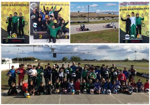 El Campeonato de Andalucía de Karting avanza con paso firme