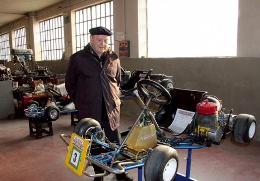 """Fallece """"Tony"""" Bosio, mito del karting y fundador de Tony Kart."""