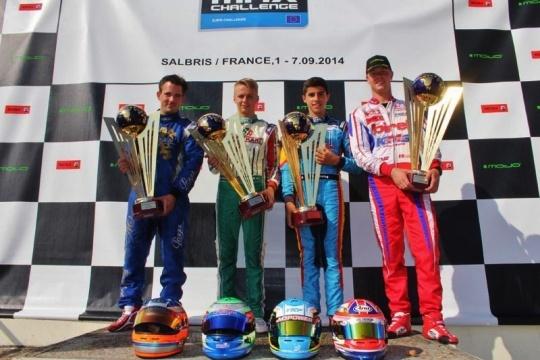 La Rotax Max Euro Challenge 2014 ya tiene ganadores.