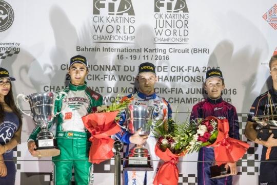 ¡David Vidales Subcampeón del Mundo OK-Junior!