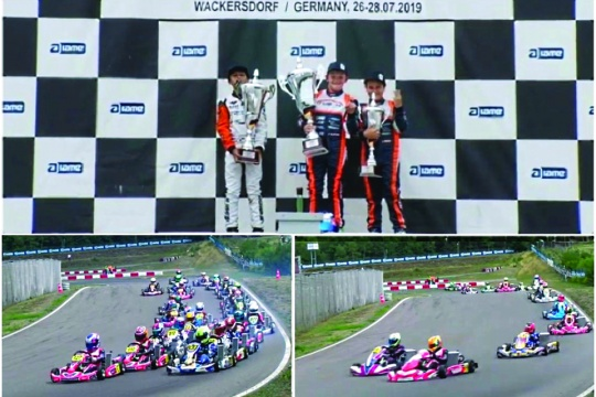 Euro Series Iame: Meritoria actuación de los pilotos españoles