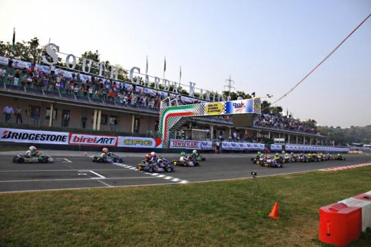 En marcha la XXIII Winter Cup en Lonato, disputado el Qualifying.