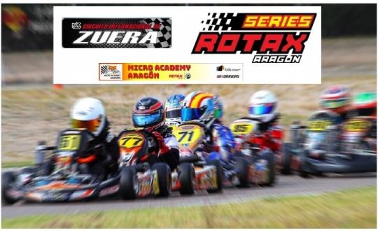 El Circuito Internacional de Zuera abre las Series Rotax 2018