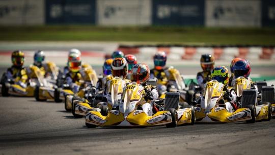 Europeo FIA Karting Adria - Top 7 para Santi Vallvé en el Academy, DPK y Al Azhari sin recompensa final.