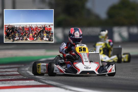 FIA Karting Adria: ¡Pedro Hiltbrand subcampeón de Europa KZ!