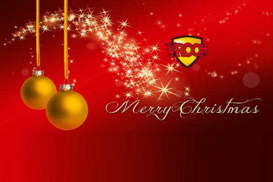 ¡Feliz Navidad y próspero año nuevo!!