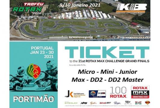 Tickets Rotax Grand Finals 2020: Los españoles se jugarán el pase en Braga