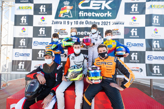 Zuera corona a los Campeones de España de Karting 2021
