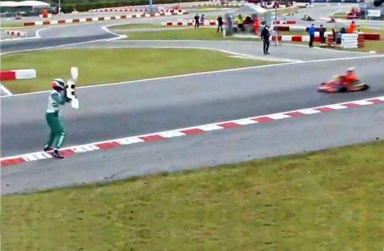 La FIA confirma una sanción de 15 años a Luca Corberi