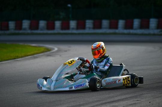 Europeo FIA Wackersdorf - Bruno del Pino 7º en OK-Junior