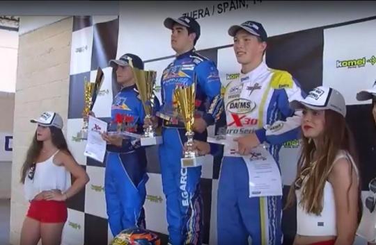 X30 Euro Series - Podios con pilotos españoles