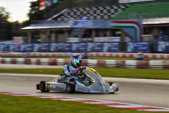 Mundial Karting FIA Lonato: Pedro Hiltbrand is Back!