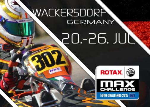 El Euro Rotax en Wackersdorf a por la penúltima prueba del calendario.