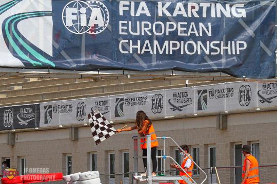 Calendario FIA Karting 2022: Zuera acogerá la segunda cita europea de OK/OKJ