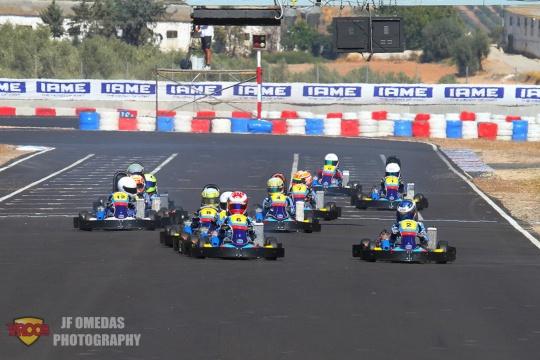 Academy CEK Campillos - Javier Broasca el piloto a batir
