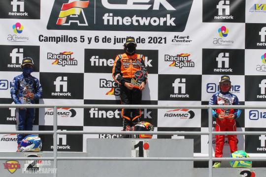CEK Campillos Mini - Sandro Pérez vence en carrera 2