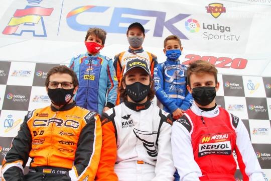 Zuera corona a los Campeones de España de Karting 2020