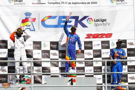 CEK Junior Carrera 2 - Nikola Tsolov vence en Campillos