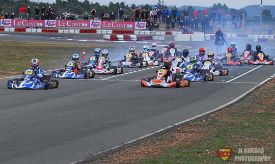 I LeCont Trophy - Clasificatorias disputadas en Chiva