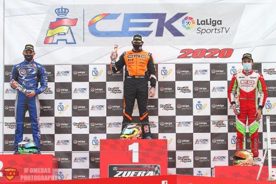 CEK Zuera KZ - Gerard Cebrián virtual campeón