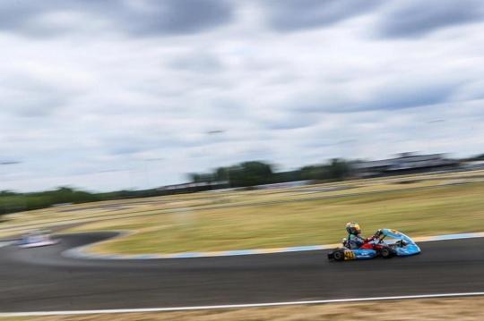 Asalto final del Europeo FIA de OK y OKJ en Le Mans