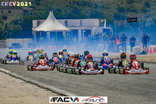 El Campeonato de Karting de la Comunitat Valenciana saca pecho en Cheste
