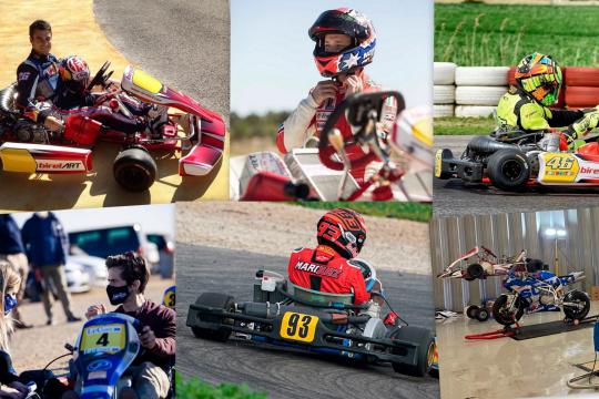 El karting cada vez más popular entre los pilotos de motociclismo