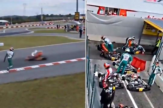 El espítitu deportivo del karting, y su imagen, en juego