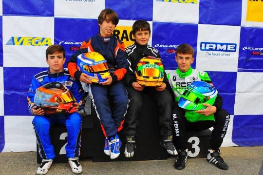Alcarrás coronó a los campeones de Cataluña de Karting 2019
