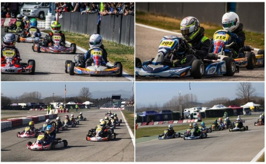 El Campeonato de Karting de Castilla y León despegó en Cabañas Raras
