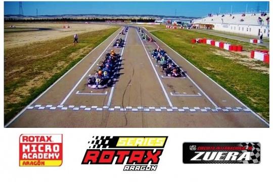 Las Series Rotax en el Circuito Internacional de Zuera