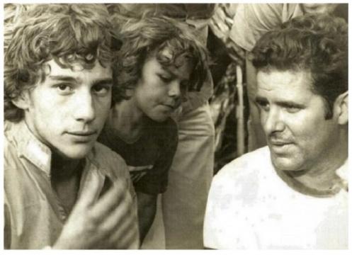 Fallece Tche, el mecánico español de Senna en su època de karting