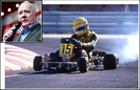 Así era el Ayrton Senna kartista según Terry Fullerton