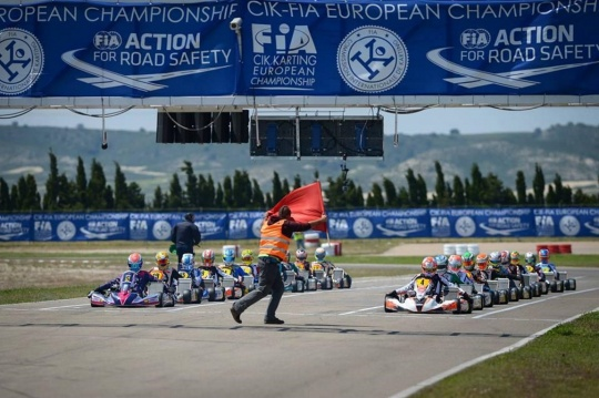 Nueva fecha para el europeo CIK-FIA de OK-OKJ en Zuera