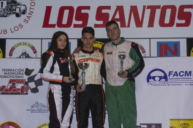 Circuito Karts Santos De La Humosa : El madrileño y castellano manchego disputó su segunda