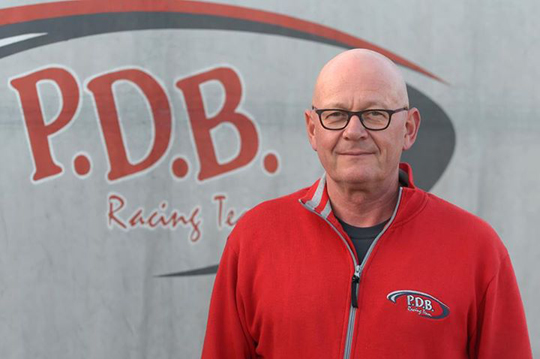 Peter de Bruijn, a major figure in the history of karting