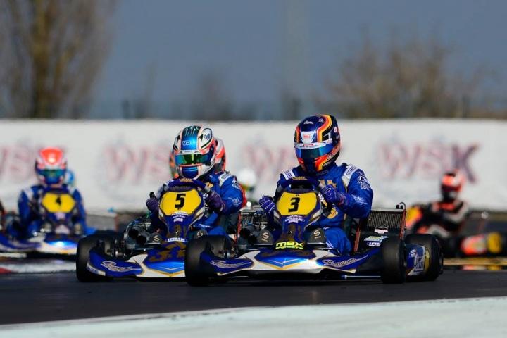 Gold Cup – Camponeschi se impone en KZ2, sexto puesto para Pescador.