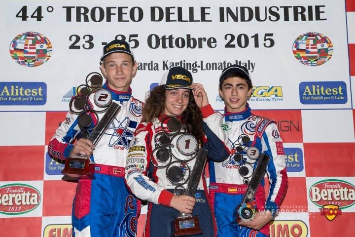 Marta García y David Vidales en la historia del Trofeo de la Industria