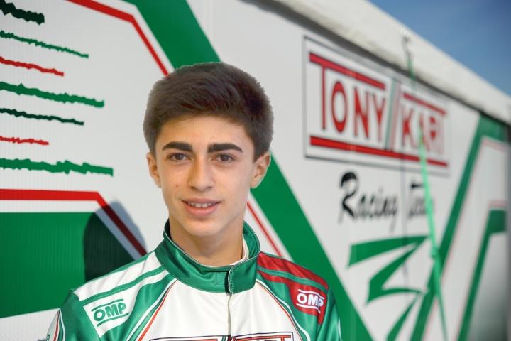 David Vidales nuevo piloto Tony Kart
