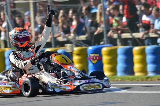 Campeonato del Mundo KZ. Verstappen se corona, Alguersuari en el top 10.