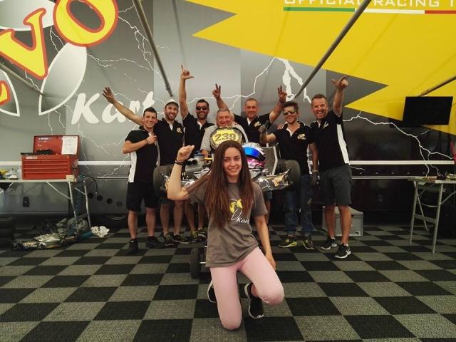 WSK OK Adria - Marta García en racha logra un nuevo podio