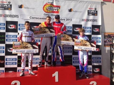Las Series Rotax 2013 ya tienen Campeones. Nuevos tickets asignados para las Grand Finals.