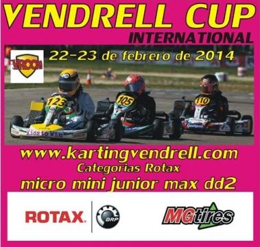 LLEGA LA VENDRELL CUP, PARA KZ2 Y TODAS LAS CATEGORÍAS ROTAX